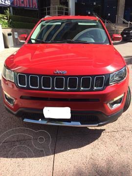 Jeep Compass Limited usado (2018) color Rojo precio $310,000