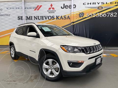 Jeep Compass 4x2 Latitude usado (2019) color Blanco precio $399,000