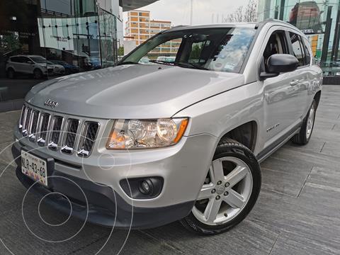 Jeep Compass 4x2 Limited Premium CVT usado (2012) color Plata precio $190,000