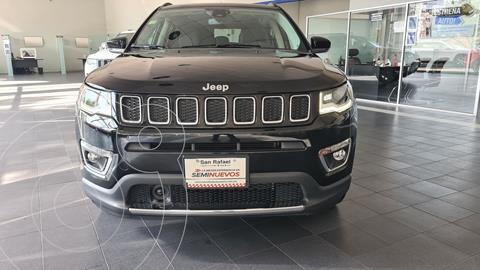 Jeep Compass Limited Premium  usado (2021) color Negro precio $540,000