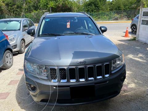 Jeep Compass 4x2 Sport CVT usado (2013) color Gris precio $165,000