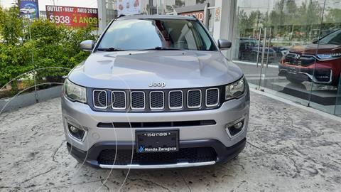 Jeep Compass 4x4 Limited CVT usado (2018) color Plata Dorado precio $408,000