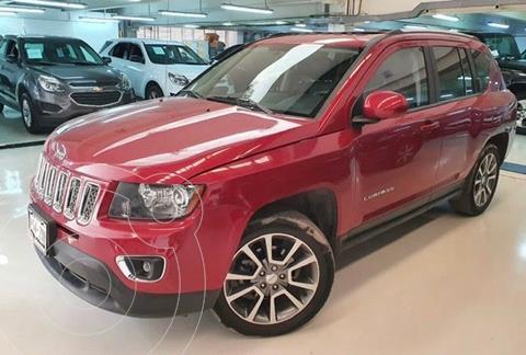 Jeep Compass 4x2 Limited Premium CVT Nav  usado (2014) color Rojo Cobrizo precio $224,100