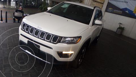 Jeep Compass 4x4 Limited CVT usado (2018) color Blanco precio $405,000
