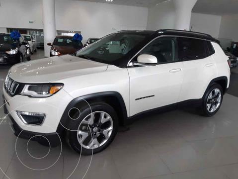 Jeep Compass 4x2 Limited Premium CVT  usado (2018) color Blanco precio $419,900