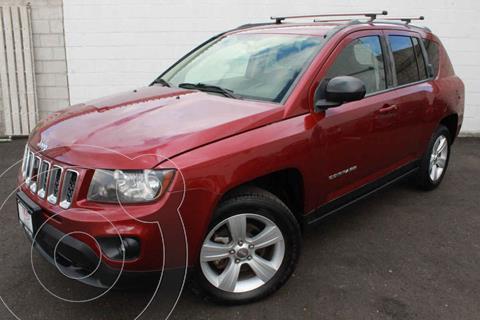 Jeep Compass 4x2 Latitude Aut usado (2014) color Rojo precio $197,000