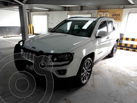 Jeep Compass 4x2 Limited Aut usado (2015) color Blanco precio $255,000