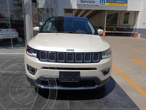 Jeep Compass 4x2 Limited Aut usado (2020) color Blanco precio $548,900