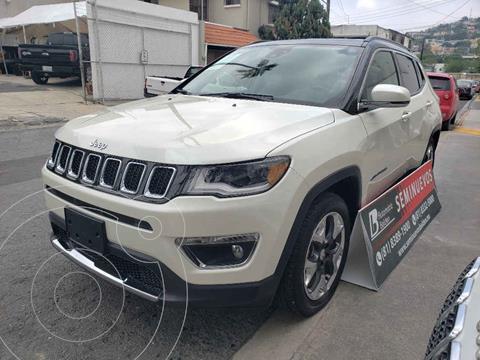 Jeep Compass 4x2 Limited Premium CVT  usado (2019) color Blanco precio $474,000