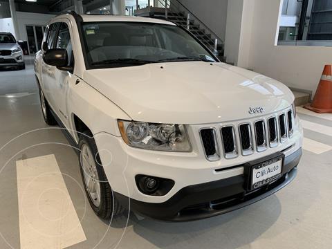 Jeep Compass 4x2 Limited Premium CVT usado (2012) color Blanco precio $175,000