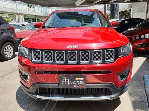 Jeep Compass 4x2 Limited Aut usado (2018) color Rojo precio $334,900