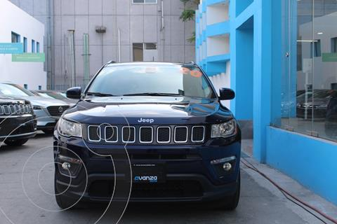 Jeep Compass 4x2 Latitude usado (2020) color Azul Marino precio $473,000