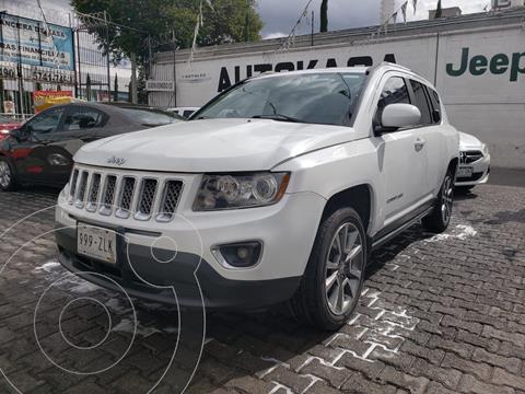 Jeep Compass 4x4 Limited CVT usado (2014) color Blanco precio $199,000