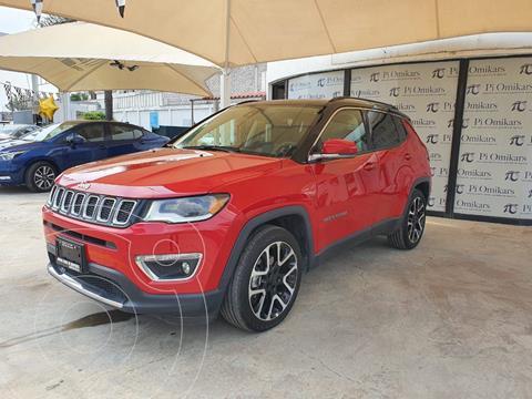 Jeep Compass Limited Premium  usado (2021) color Rojo precio $579,000