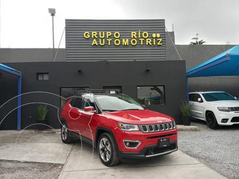 Jeep Compass Limited Premium usado (2019) color Rojo precio $459,000