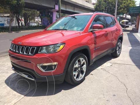 Jeep Compass 4x2 Limited Aut usado (2018) color Rojo precio $349,000