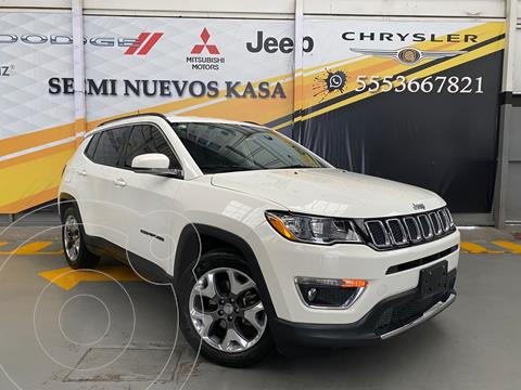 Jeep Compass 4x4 Limited CVT usado (2019) color Blanco precio $480,000