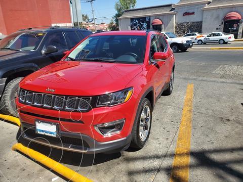 Jeep Compass Limited Premium usado (2019) color Rojo Cerezo precio $410,000