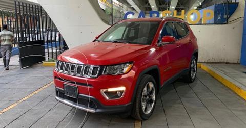 Jeep Compass 4x4 Limited CVT usado (2019) color Rojo precio $439,900