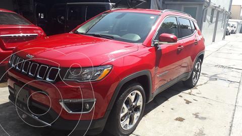 Jeep Compass 4x2 Limited Aut usado (2019) color Rojo precio $462,200
