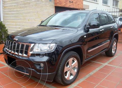Jeep Grand Cherokee Limited 3.6 usado (2012) color Negro precio $2.500.000