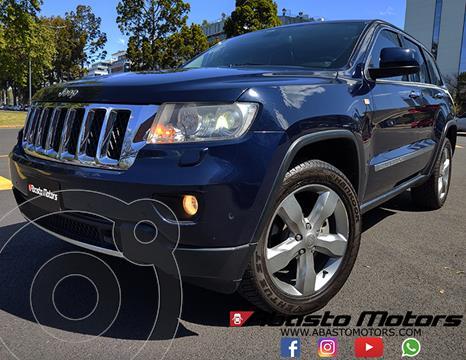 Jeep Grand Cherokee Overland 3.6 usado (2013) color Azul Perla precio $3.990.000
