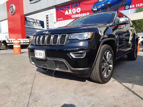 Jeep Grand Cherokee Limited Lujo 3.6L 4x2 usado (2018) color Negro precio $610,000