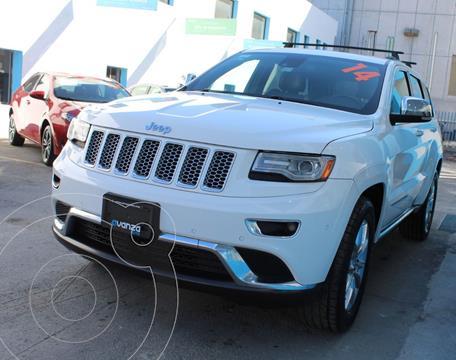 Jeep Grand Cherokee Summit 5.7L 4x4 usado (2014) color Blanco precio $399,000