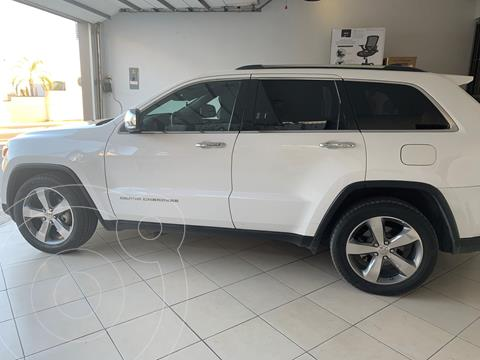 Jeep Grand Cherokee Limited 3.6L 4x2 usado (2014) color Blanco precio $349,000