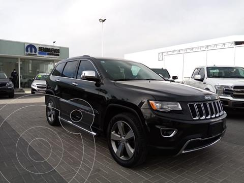 Jeep Grand Cherokee Limited 4x2 3.6L V6 usado (2016) color Negro precio $410,000