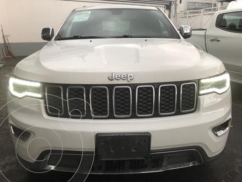 Jeep Grand Cherokee Limited Lujo 3.6L 4x2 usado (2018) color Blanco precio $580,000