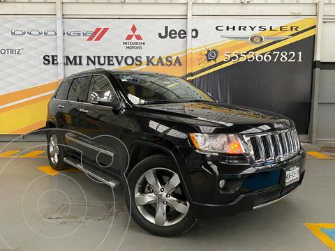 Jeep Grand Cherokee Overland 5.7L V8 4x4 usado (2012) color Negro precio $289,000