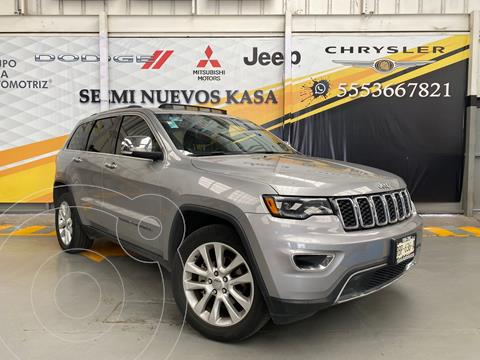 Jeep Grand Cherokee Limited Lujo 3.6L 4x2 usado (2017) color Plata Dorado precio $550,000