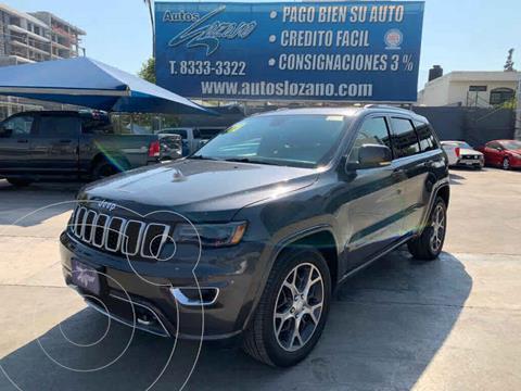 Jeep Grand Cherokee Limited Lujo 3.6L 4x2 usado (2018) color Gris precio $579,900