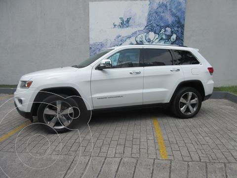 Jeep Grand Cherokee Limited 4x2 3.6L V6 usado (2015) color Blanco precio $379,000