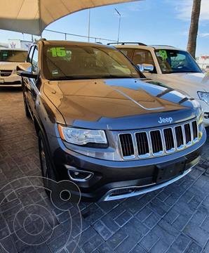Jeep Grand Cherokee Limited Lujo 3.6L 4x2 usado (2015) color Gris precio $400,000