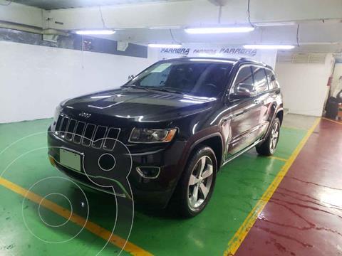 Jeep Grand Cherokee Limited 4x2 3.6L V6 usado (2014) color Negro precio $320,000