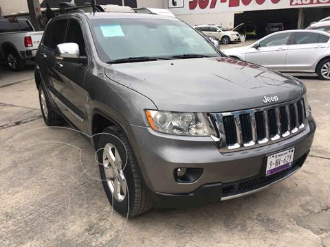 Jeep Grand Cherokee Limited 4x2 3.6L V6 usado (2012) color Gris precio $235,000