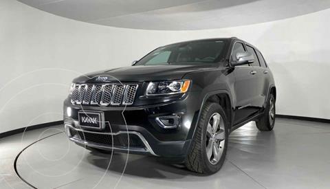 Jeep Grand Cherokee Limited Navegacion 4x2 3.6L V6  usado (2015) color Negro precio $382,999
