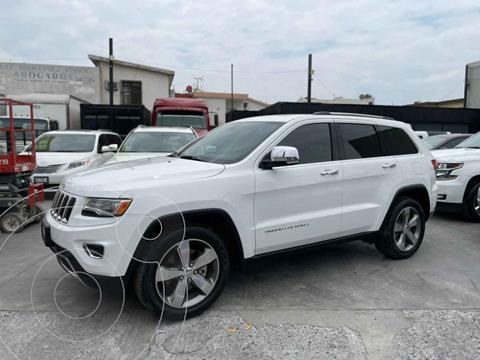 Jeep Grand Cherokee Limited 4X4 4.7L V8 usado (2016) color Blanco precio $474,800