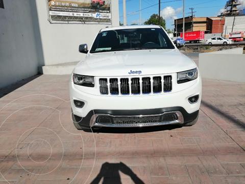 Jeep Grand Cherokee Limited 4x2 3.6L V6 usado (2015) color Blanco precio $419,900