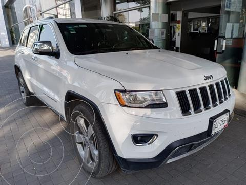 Jeep Grand Cherokee Limited 4x2 3.6L V6 usado (2015) color Blanco precio $360,000