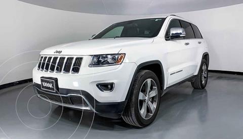Jeep Grand Cherokee Limited Lujo 5.7L 4x2 usado (2014) color Blanco precio $362,999