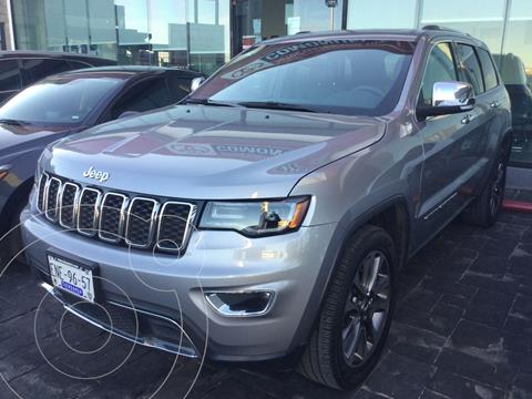 Jeep Grand Cherokee Limited 4x2 3.6L V6 usado (2018) color Plata Dorado precio $545,000