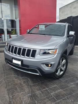 Jeep Grand Cherokee Limited 4x2 3.6L V6 usado (2014) color Gris precio $385,000