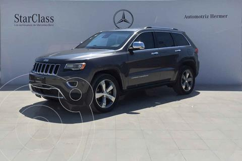 Jeep Grand Cherokee Limited Lujo Advance 5.7L 4x4 usado (2014) color Gris precio $749,900