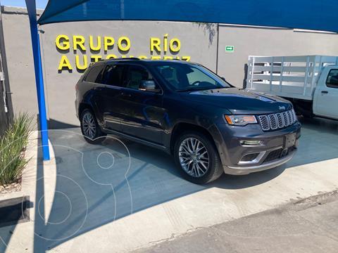Jeep Grand Cherokee Summit 5.7L 4x4 usado (2017) color Gris Oscuro precio $698,000