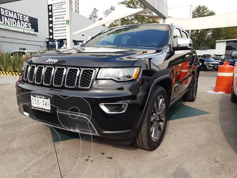 Jeep Grand Cherokee Limited 3.6L 4x2 usado (2018) color Negro precio $570,000
