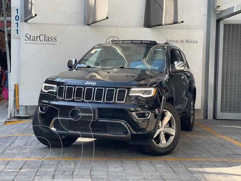 Jeep Grand Cherokee Limited Lujo 5.7L 4x4 usado (2017) color Negro precio $590,000