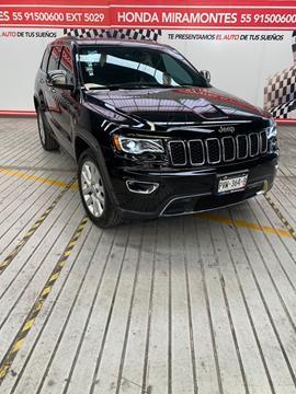Jeep Grand Cherokee Limited 3.6L 4x2 usado (2017) color Negro financiado en mensualidades(enganche $128,750 mensualidades desde $10,325)